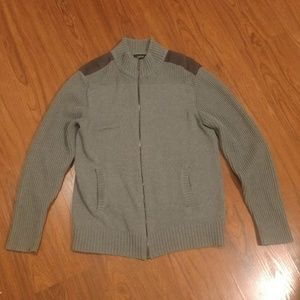 Apt. 9 Jacket Size Large Gray Full Zipper